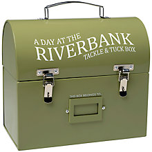 Buy Burgon & Ball Tackle And Tuck Box, Metal Green Online at johnlewis.com