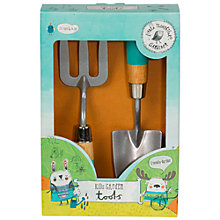 Buy Little Thoughtful Gardener Fork And Trowel Set Online at johnlewis.com