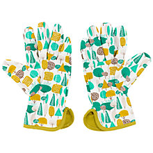 Buy Thoughtful Gardener Tree Print Garden Gloves Online at johnlewis.com