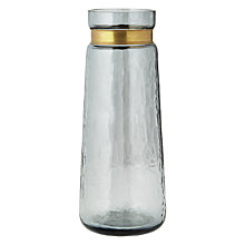 Buy John Lewis Tall Glass Vase, Blue Online at johnlewis.com