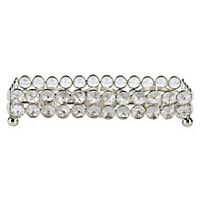 Buy John Lewis Crystal Bead Tealight Holder Tray Online at johnlewis.com