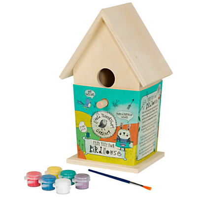 Little Thoughtful Gardener Paint Your Own Birdhouse