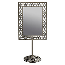 Buy John Lewis Jewels Standing Mirror, 10 x 15cm Online at johnlewis.com