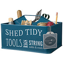 Buy Burgon & Ball Shed Caddy, Blue Online at johnlewis.com