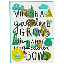 Buy Thoughtful Gardener Garden Journal Online at johnlewis.com