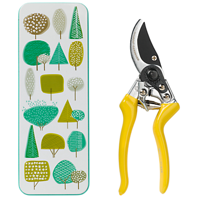 Thoughtful Gardener Secateurs in a Tin