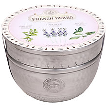 Buy Kew Royal Botanic Gardens Large Metal Pot, French Herbs Online at johnlewis.com