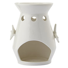 Buy John Lewis Butterfly Oil Burner, White Online at johnlewis.com