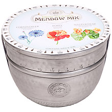 Buy Kew Royal Botanic Gardens Large Metal Pot, Meadow Flowers Online at johnlewis.com