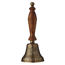 Buy John Lewis Hand Bell, Wood and Brass Online at johnlewis.com