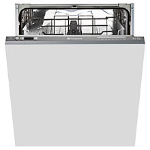 Buy Hotpoint LTF8B019UK Integrated Dishwasher Online at johnlewis.com