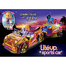 Buy Lite Brix Lite Up Sports Car Online at johnlewis.com