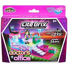 Buy Cra-Z-Art Lite Brix Super Light Building System, Assorted Online at johnlewis.com