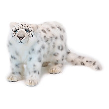 Buy Hansa Standing Snow Leopard Soft Toy Online at johnlewis.com