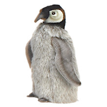 Buy Hansa Baby Emperor Penguin Soft Toy, 24cm Online at johnlewis.com