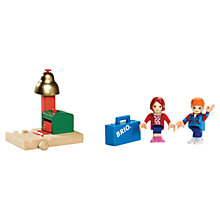 Buy John Lewis Exclusive Brio Magnetic Bell & Figures Online at johnlewis.com