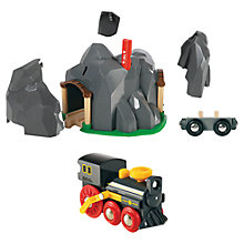 Buy John Lewis Exclusive Brio Steam Train & Tunnel Online at johnlewis.com