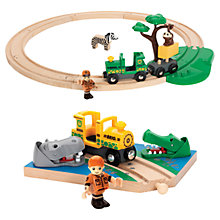Buy John Lewis Exclusive Brio Safari & River Crossing Set Online at johnlewis.com