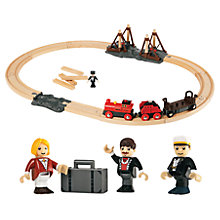 Buy John Lewis Exclusive Brio Steam Train & Track Set Online at johnlewis.com