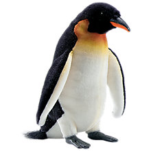 Buy Hansa Emperor Penguin Soft Toy, 24cm Online at johnlewis.com