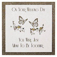 Buy Five Dollar Shake Meant To Be Etched Wedding Card Online at johnlewis.com