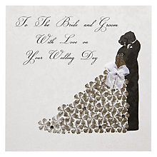 Buy Five Dollar Shake Bride and Groom Wedding Card Online at johnlewis.com