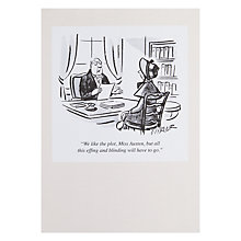 Buy Woodmansterne Austen Greeting Card Online at johnlewis.com