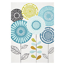 Buy Art File Blue Flowers Greeting Card Online at johnlewis.com