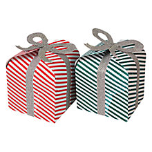 Buy Meri Meri Striped Pop Up Gift Boxes, Set of 2, Multi Online at johnlewis.com
