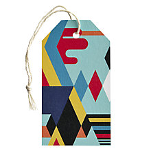 Buy Art File Diamond Arrows Gift Tag Online at johnlewis.com