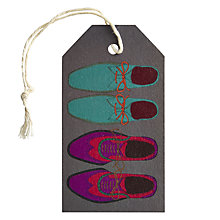 Buy Art File Shoes Gift Tag Online at johnlewis.com