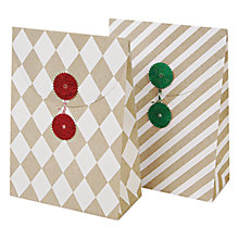 Buy Meri Meri Patterned Gift Bags, Set of 2, Multi Online at johnlewis.com