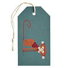 Buy Art File Frank Monkey Gift Tag Online at johnlewis.com