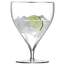 Buy LSA Savoy Water and Wine Glass, Set of 2 Online at johnlewis.com
