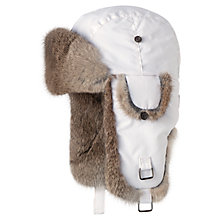 Buy Barts Kamikaze Trapper Hat, One Size, White Online at johnlewis.com