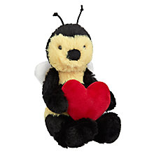 Buy Jellycat Baby Bashful Bee with Heart Online at johnlewis.com
