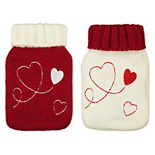 Buy John Lewis Hearts Handwarmers, Red Online at johnlewis.com