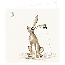 Buy Art Marketing Hare Style Charity Christmas Cards, Pack of 6 Online at johnlewis.com