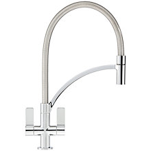 Buy Franke Wave Pull-Out Nozzle Kitchen Tap Online at johnlewis.com