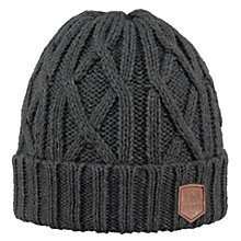 Buy Barts Robian Beanie Hat, One Size, Dark Heather Online at johnlewis.com
