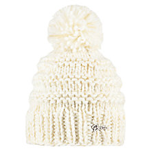 Buy Barts Jasmin Knitted Beanie, One Size, Heather Grey Online at johnlewis.com