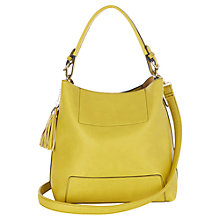 Buy Oasis Holly Hobo Bag, Mid Yellow Online at johnlewis.com