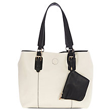 Buy Oasis Shirley Shopper Bag, White Online at johnlewis.com