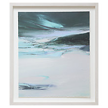 Buy Kathy Ramsay Carr - Darting Green Framed Print, 48 x 42cm Online at johnlewis.com