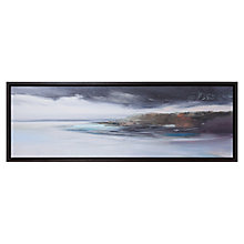 Buy Kathy Ramsay Carr - Whimbrel Turn Framed Canvas, 106.4 x 37.5cm Online at johnlewis.com