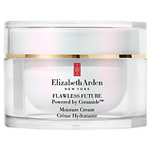 Buy Elizabeth Arden Flawless Future Moisture Cream SPF30 PA ++, 50ml Online at johnlewis.com