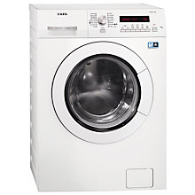 Buy AEG L75670WD Washer Dryer, 7kg Wash/4kg Dry Load, A Energy Rating, 1600rpm Spin, White Online at johnlewis.com