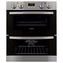 Buy Zanussi ZOE35511XK Double Electric Oven, Stainless Steel Online at johnlewis.com