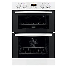 Buy Zanussi ZOD35511WK Double Electric Oven, White Online at johnlewis.com