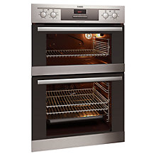 Buy AEG DE4013021M Double Electric Oven, Stainless Steel Online at johnlewis.com